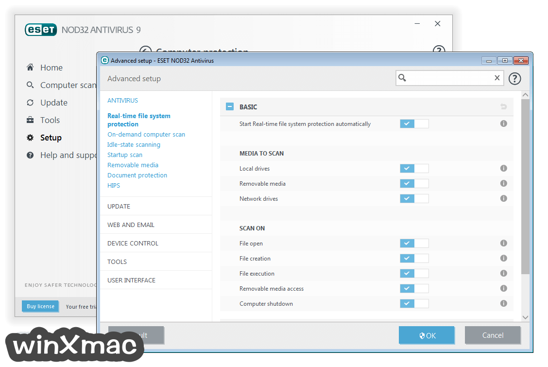 ESET NOD32 Antivirus (64-bit) Screenshot 5