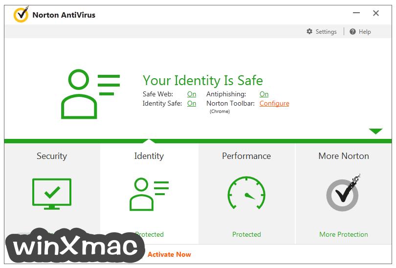 Norton AntiVirus Screenshot 3