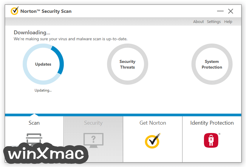 Norton Security Scan Screenshot 2