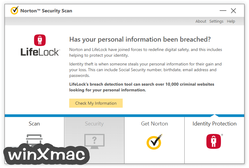 Norton Security Scan Screenshot 4