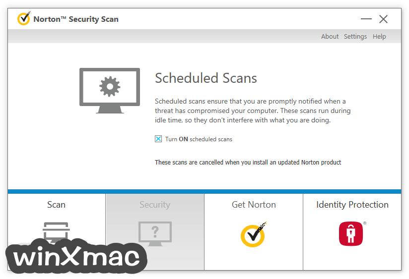 Norton Security Scan Screenshot 5