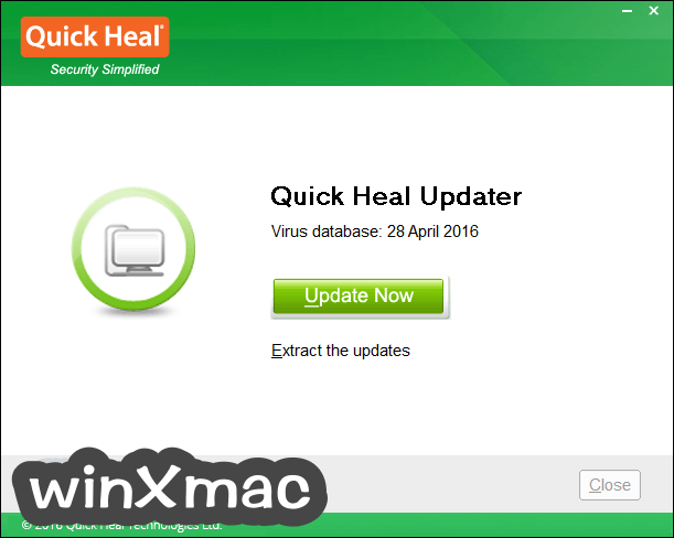 Quick Heal Virus Definitions (64-bit) Screenshot 1