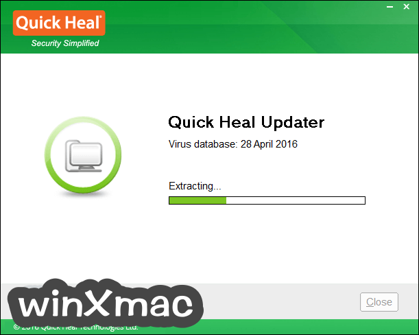 Quick Heal Virus Definitions (64-bit) Screenshot 2