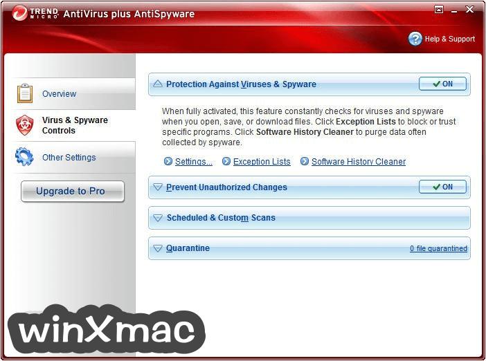 Trend Micro Antivirus+ (64-bit) Screenshot 3