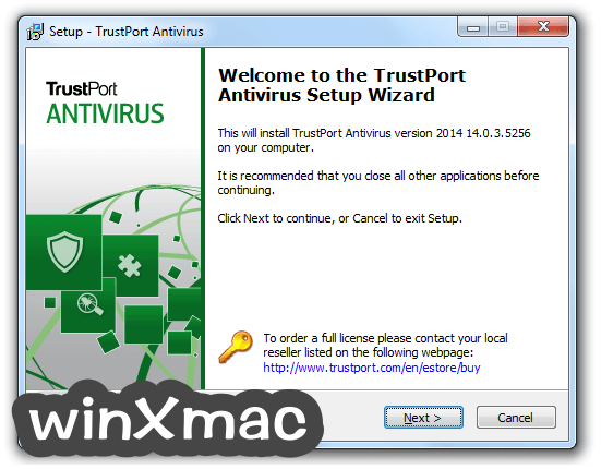 TrustPort Antivirus Screenshot 1