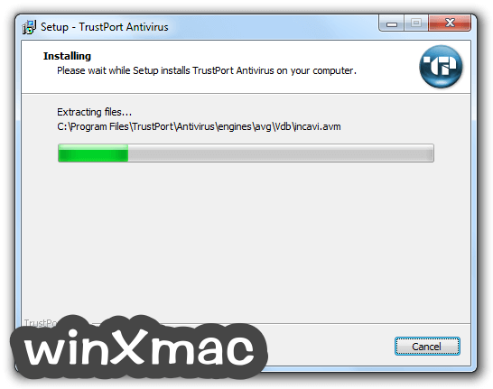 TrustPort Antivirus Screenshot 3