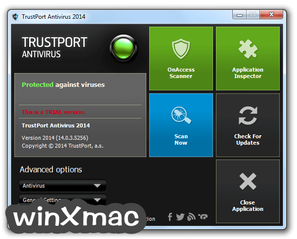 TrustPort Antivirus Screenshot 5