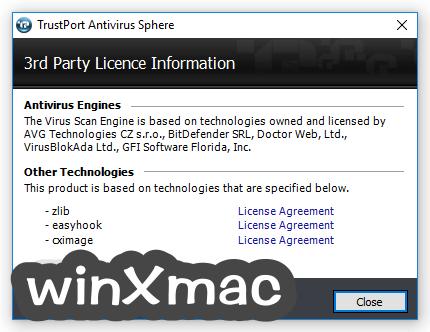 TrustPort Antivirus USB Edition Screenshot 3