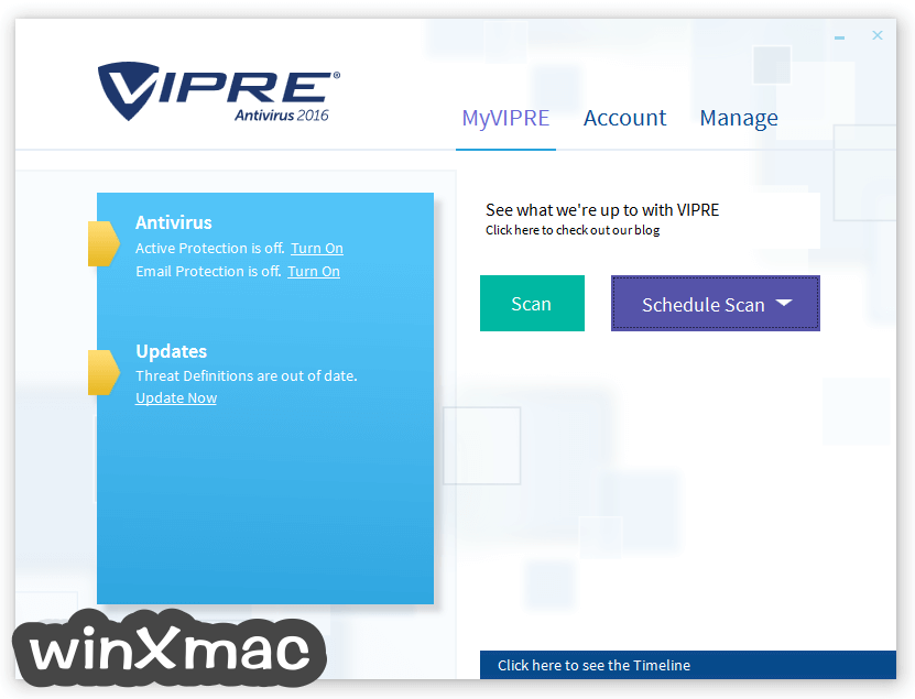 VIPRE Antivirus Screenshot 1