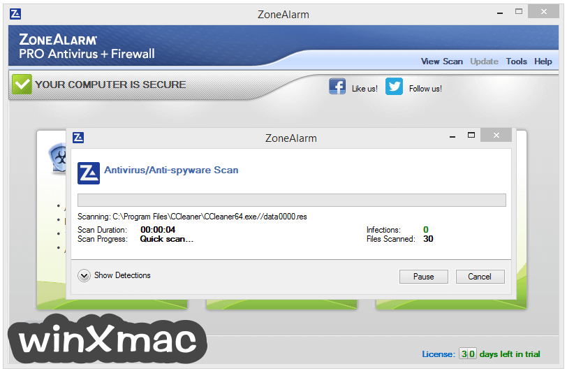ZoneAlarm Pro Antivirus + Firewall Screenshot 2