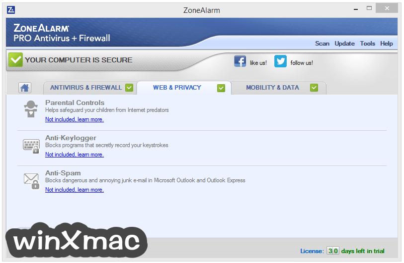 ZoneAlarm Pro Antivirus + Firewall Screenshot 4