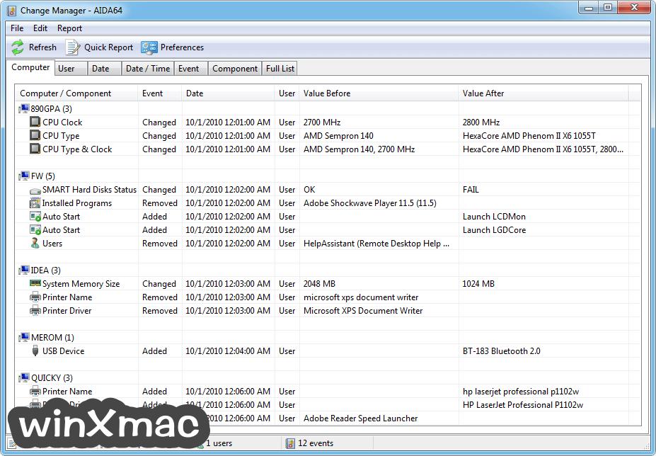 AIDA64 Business Edition Screenshot 2