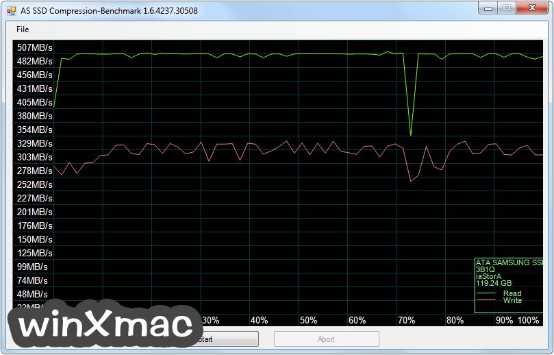 AS SSD Benchmark Screenshot 2