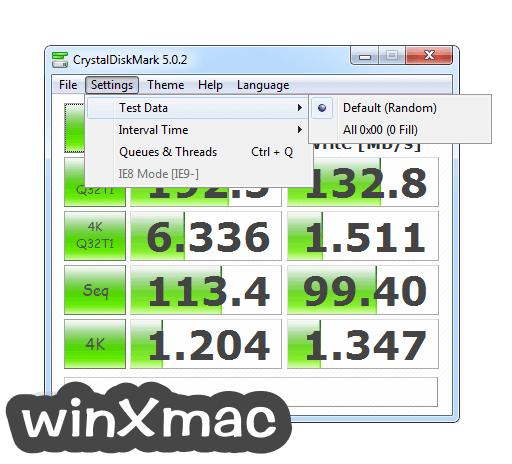 CrystalDiskMark Screenshot 3