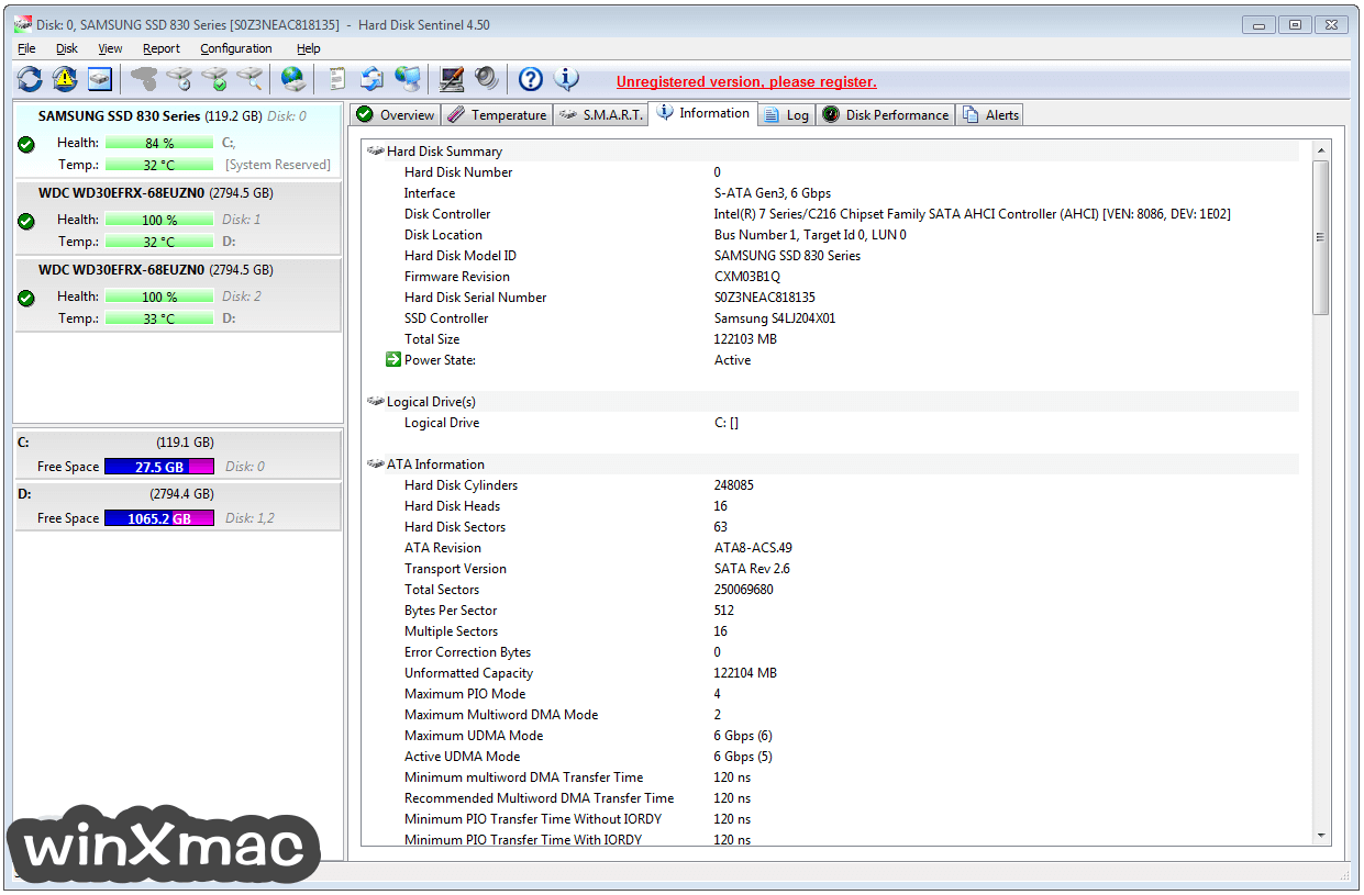 Hard Disk Sentinel Screenshot 4