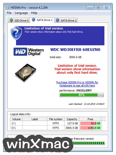 HDDLife Pro Screenshot 2