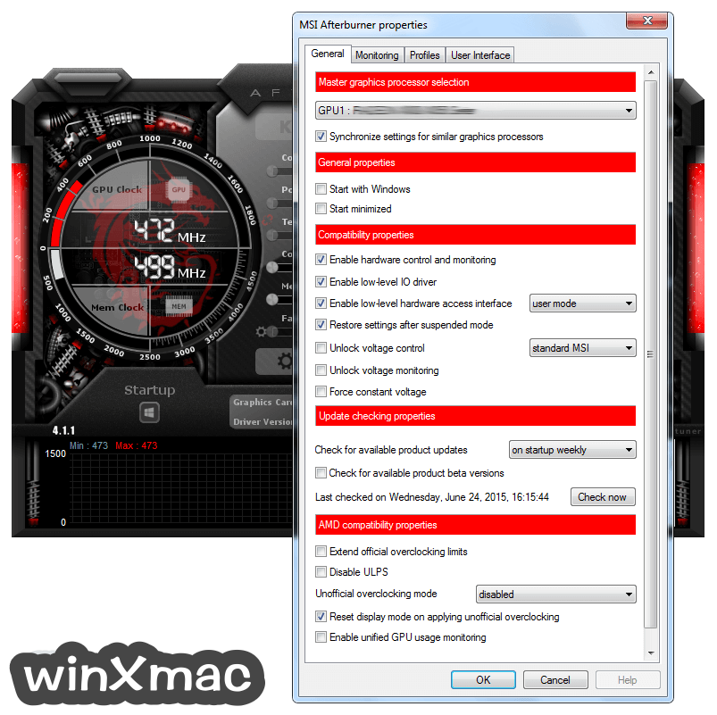 MSI Afterburner Screenshot 3