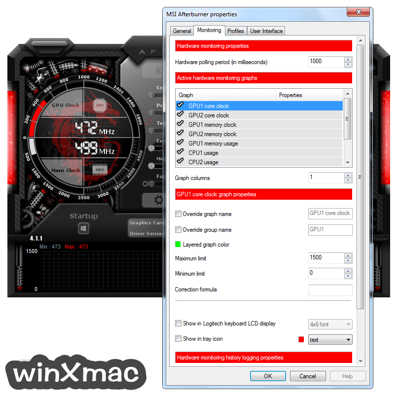MSI Afterburner Screenshot 4