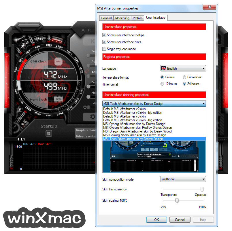 MSI Afterburner Screenshot 5