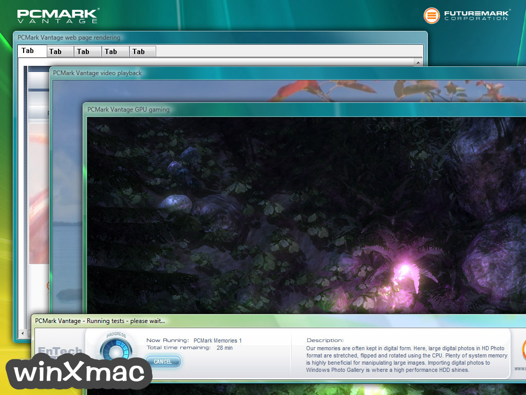 PCMark Vantage Screenshot 3