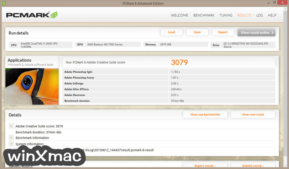 PCMark 8 Screenshot 2
