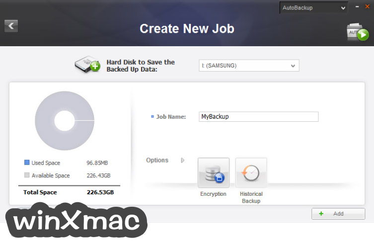 Samsung Drive Manager Screenshot 2