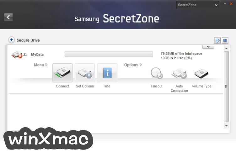 Samsung Drive Manager Screenshot 5