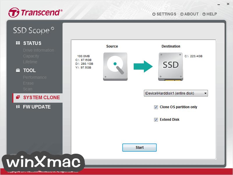 Transcend SSD Scope Screenshot 3
