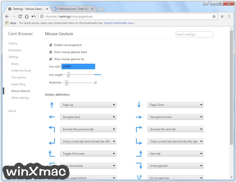 Cent Browser (32-bit) Screenshot 5