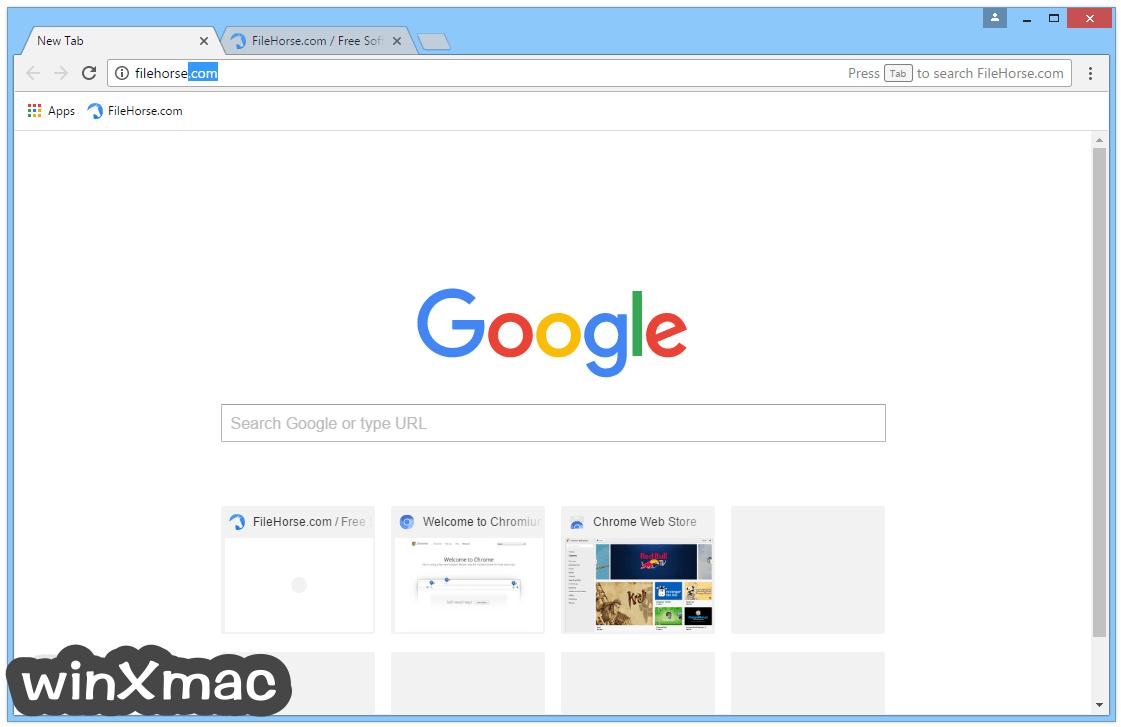 Chromium Screenshot 1