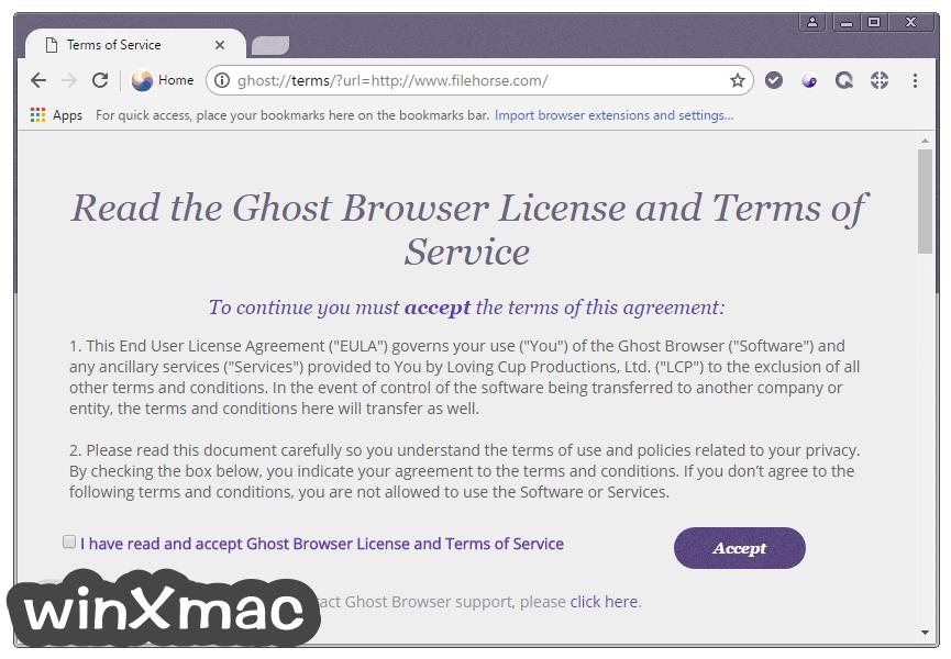 Ghost Browser Screenshot 2