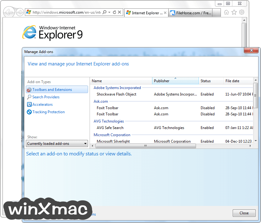 Internet Explorer (Windows7) Screenshot 4