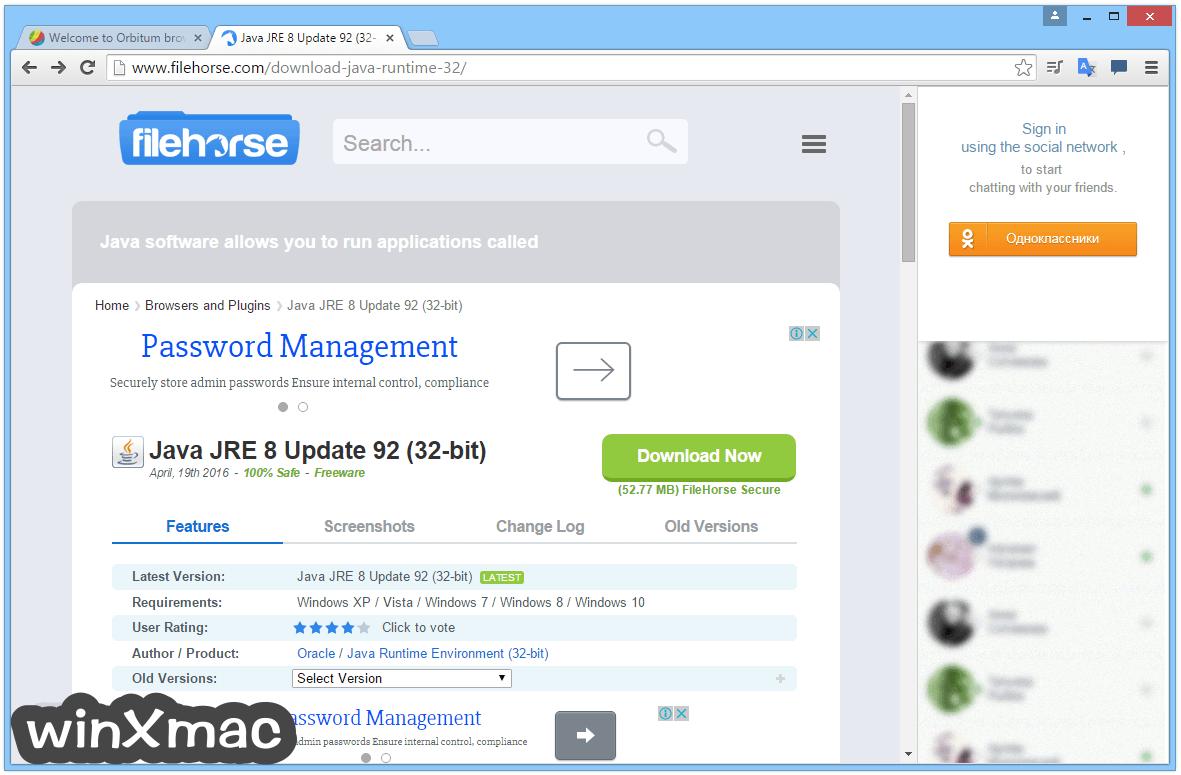 Orbitum Browser Screenshot 3
