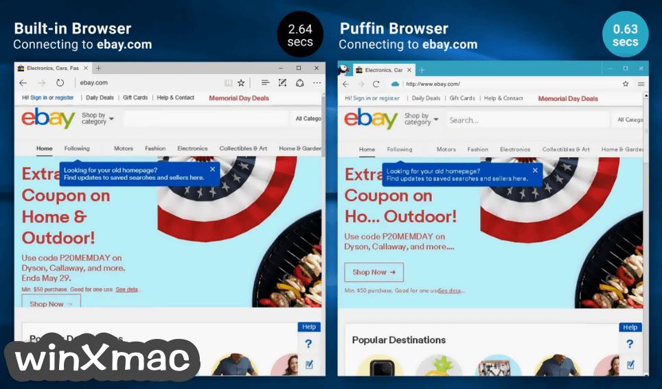 Puffin Browser Screenshot 2
