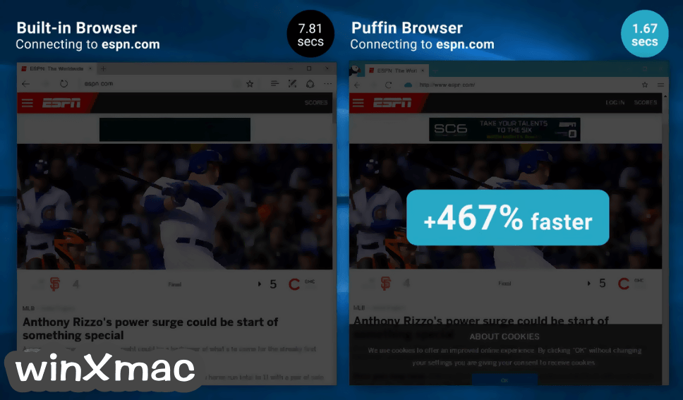 Puffin Browser Screenshot 3