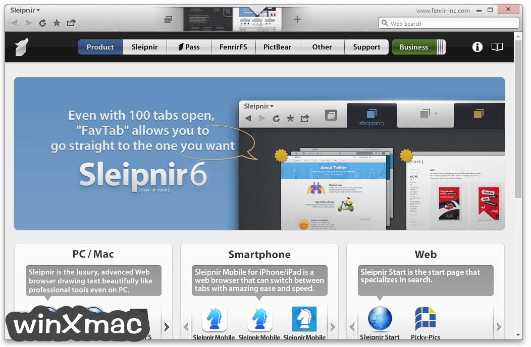 Sleipnir Browser Screenshot 1