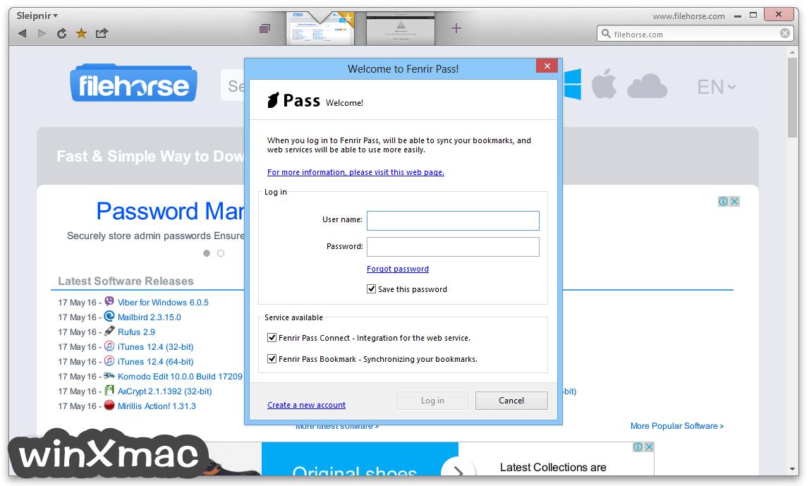Sleipnir Browser Screenshot 3