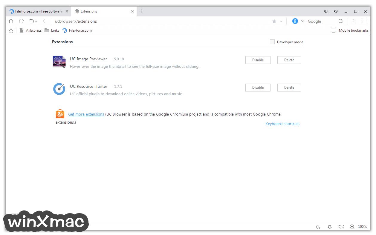 UC Browser for Windows Screenshot 2