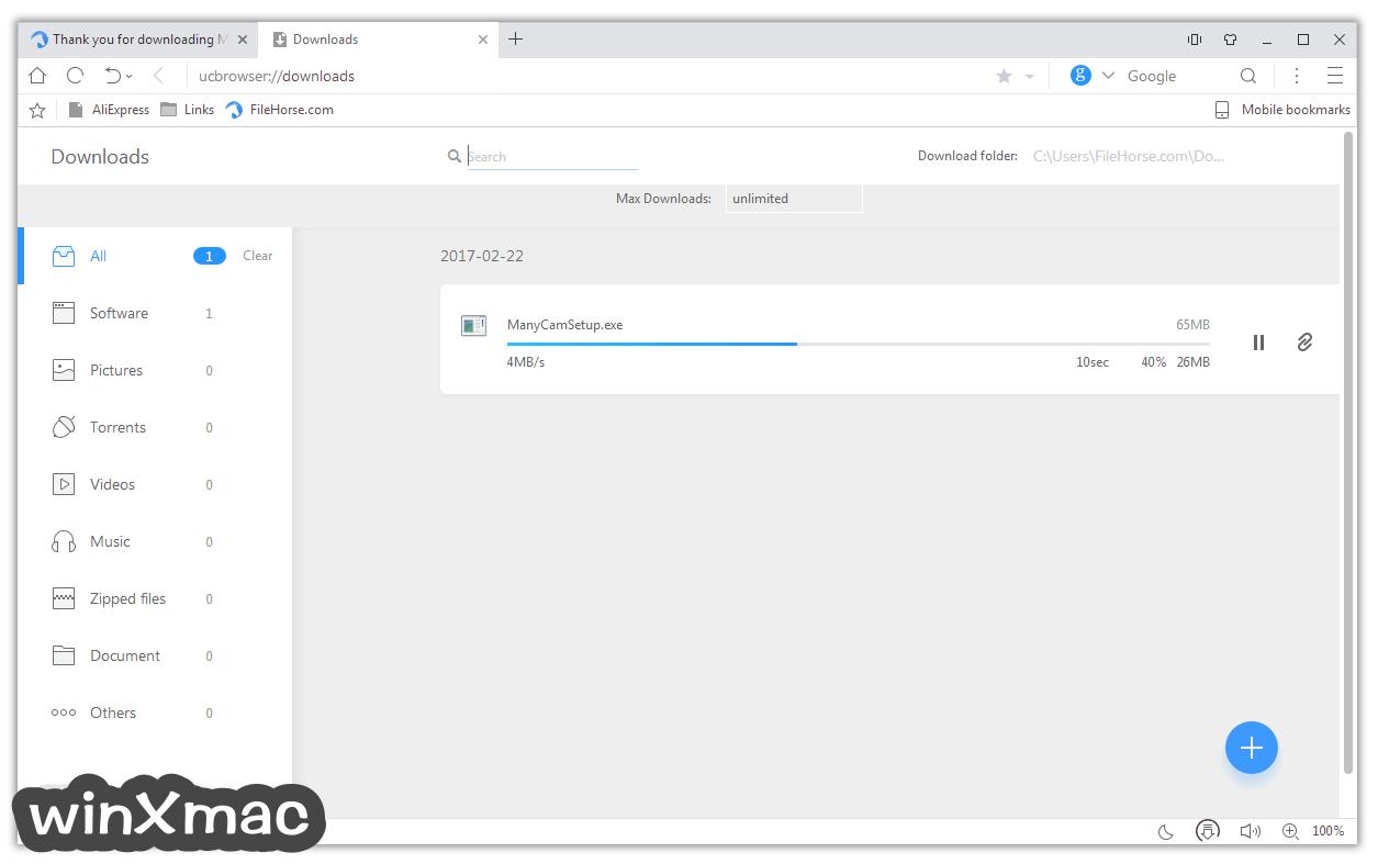 UC Browser for Windows Screenshot 3