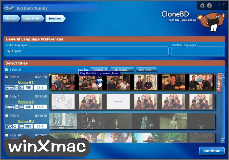 CloneBD Screenshot 5