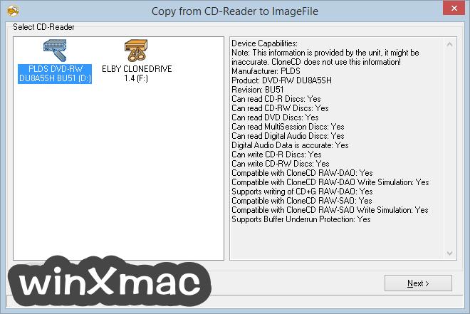 CloneCD Screenshot 1