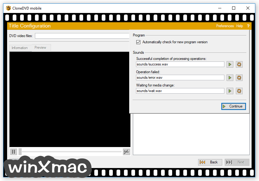CloneDVD Mobile Screenshot 4