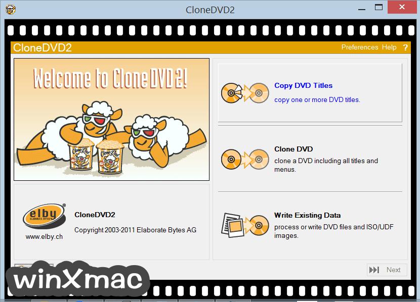 CloneDVD Screenshot 1