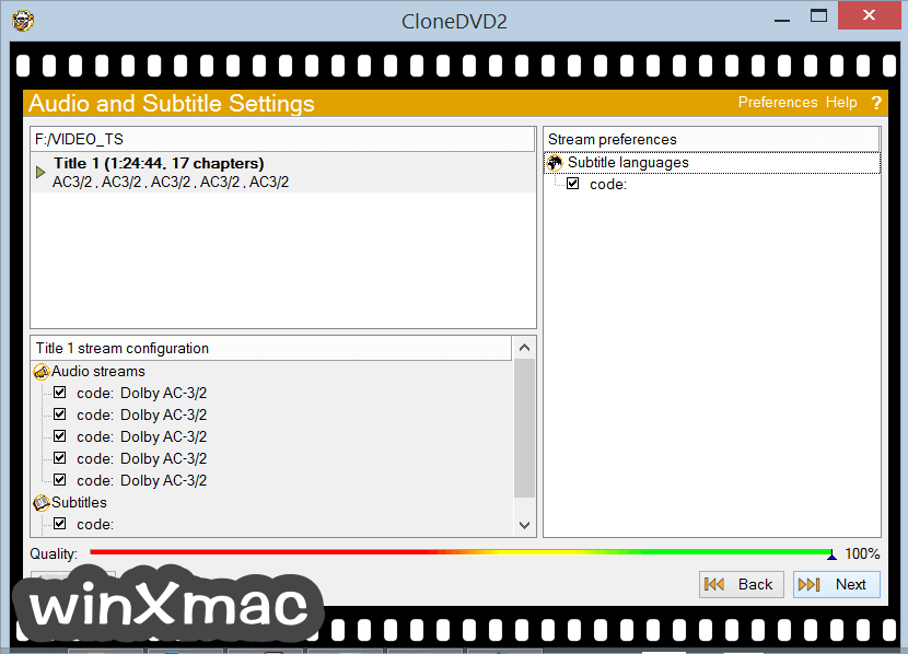 CloneDVD Screenshot 3