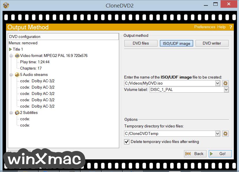 CloneDVD Screenshot 4