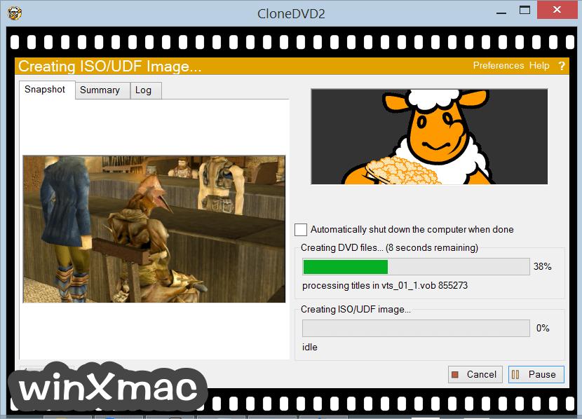 CloneDVD Screenshot 5