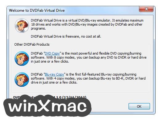 DVDFab Virtual Drive Screenshot 1