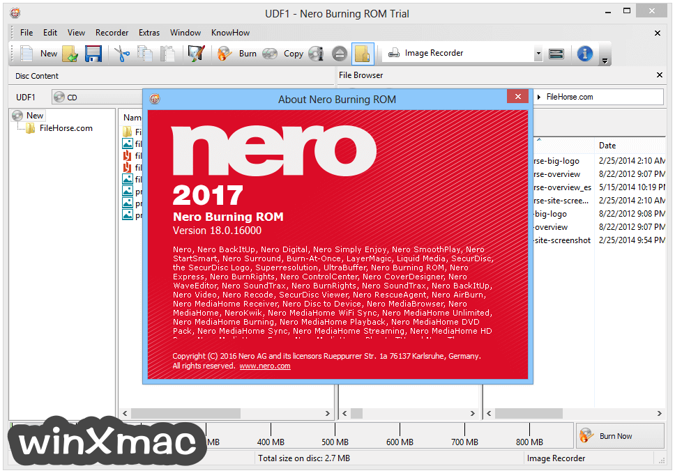 Nero Burning Rom Screenshot 4