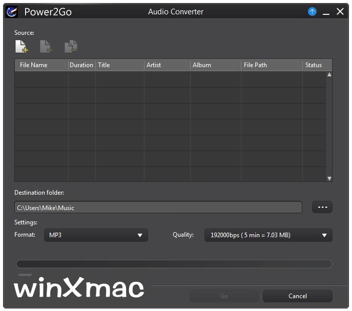 Power2Go Essential Screenshot 4