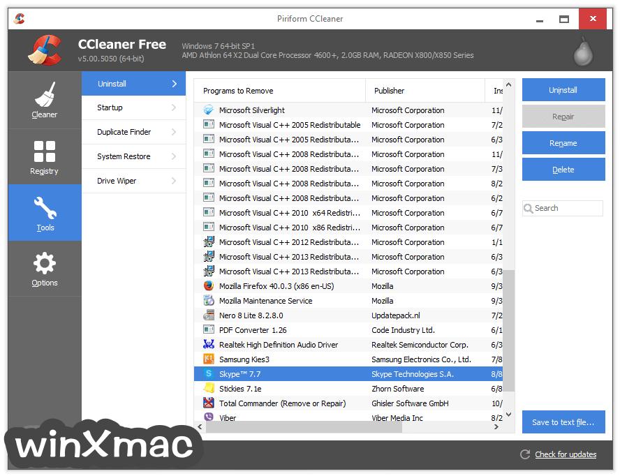 CCleaner Screenshot 4
